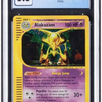 Pokémon TCG: Skyridge Alakazam E-Reader Card Auction At Heritage