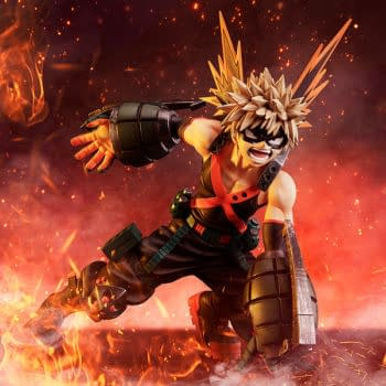 Good Smile Company Debuts Two 1/4th Scale My Hero Academia Statues
