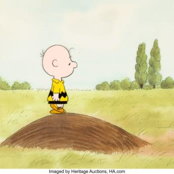 Peanuts: The Charlie Brown & Snoopy Show Production Cel Hits Auction