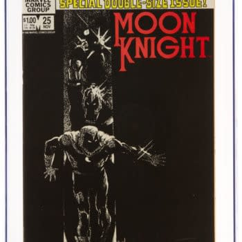 Moon Knight #25 CGC 9.8 To Set New Record At Auction