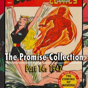 The Promise Collection Marvel Mystery #82, Phantom Lady #13, Batman #42, 1947.
