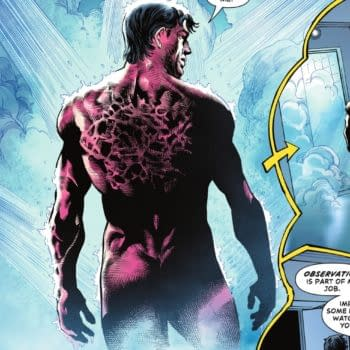 The Naked, Scarred Body Of Jason Todd in Task Force Z #1