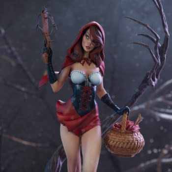 J. Scott Campbell's Red Riding Hood Comes to Life with Sideshow