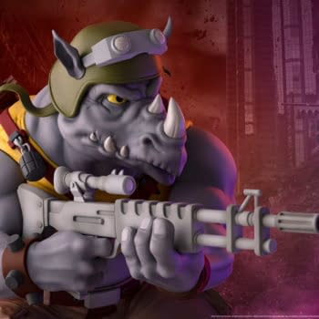 Rocksteady is Ready to Take On the TMNT with New PCS Statue