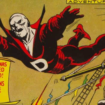 Strange Adventures #205 featuring Deadman.
