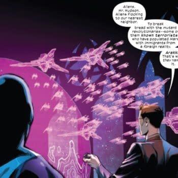 Marvel Comics X-Men Wolverine Marauders Inferno Krakoa