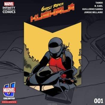 Black Eyed Peas' Taboo Writes Ghost Rider: Kushala Marvel Webtoon