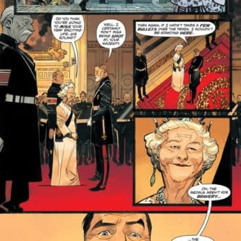 Mark Millar Writes Queen Elizabeth II In King Of Spies #1