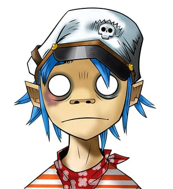 Gorillaz' 2D to Appear on San Diego Comic-Con@Home Panel