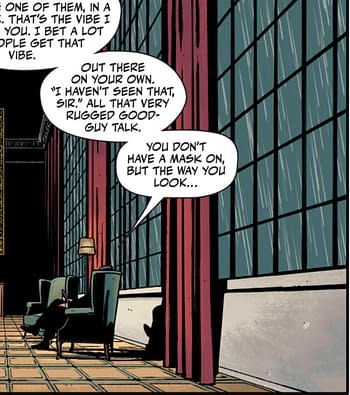 """Rorschach #5 - """"Some People Need Masks, Some Don't"""""""