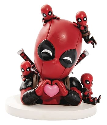Deadpool, What Are You Doing with That Unicorn? – Beast Kingdom Figures