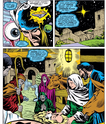 Remember When Jesus Appeared in Comic Books and FOX News Never Made a Fuss?