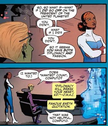 Jack Kirby In The 31st Century - Legion Of Super-Heroes #10 (Spoilers)