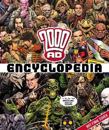 Rebellion To Celebrate 2000AD's 45th Birthday In 2022 Number Salad