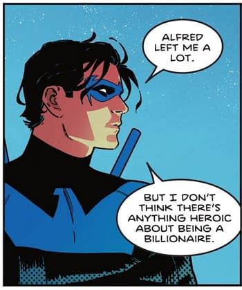 Dick Grayson To Be A Socialist Batman - Nightwing #83 Spoilers