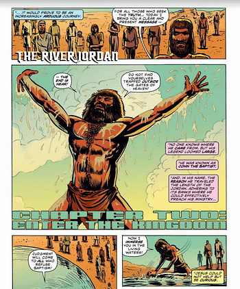 Jesusfreak – Image Comics Promises Ninja Jesus But Fails to Deliver