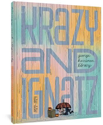 Cover image for GEORGE HERRIMAN LIBRARY HC KRAZY & IGNATZ 1922-1924