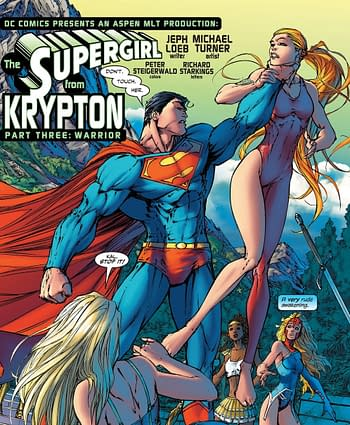 Walmart Giant-Size Superman Censored Some of Michael Turner's Supergirl and Wonder Woman Art to be More... Appropriate