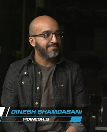 dinesh shamdasani of bad Idea at NYCC
