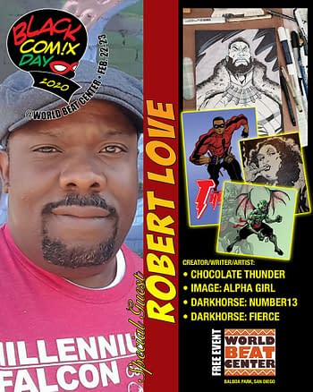 Talking Black Comix Day 2020 in San Diego with Keithan Jones