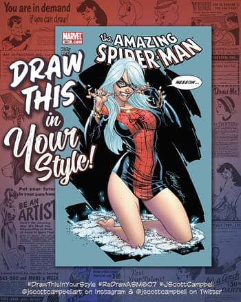 """More J Scott Campbell """"Fixing"""" Of That Mary Jane Cover"""