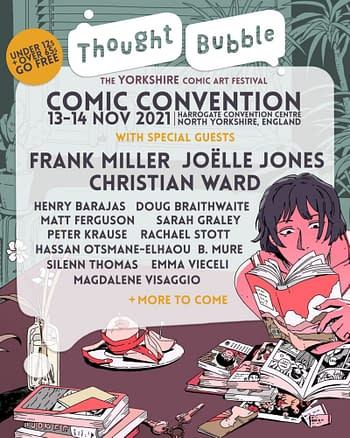 Thought Bubble Reveals Social Distancing Plans for November's Show