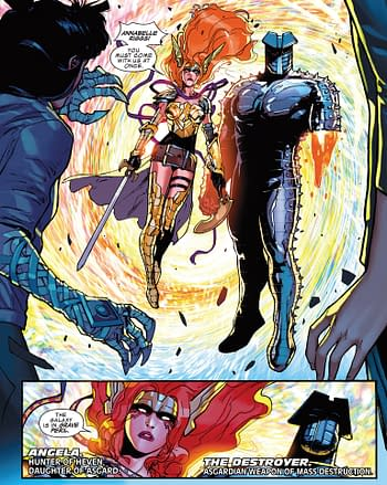 Spaghetti on a Cosmic Wall: Asgardians of the Galaxy #1 Advance Review
