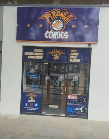 New Comic Shop Opens Up In Watford, London This Weekend, Piranha Comics
