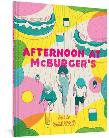 Cover image for AFTERNOON AT MCBURGERS HC
