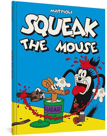 Cover image for SQUEAK THE MOUSE HC