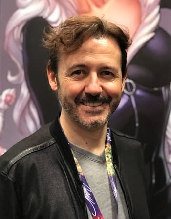 J Scott Campbell at comic con