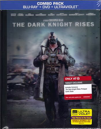 The Dark Knight Rises Target Digibook Cover