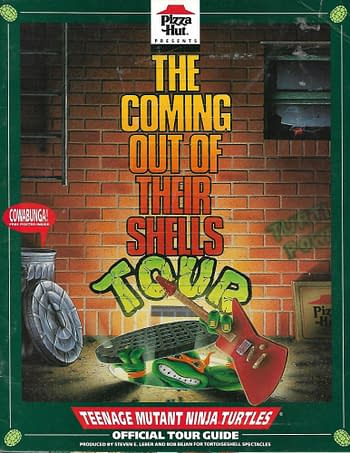 The Coming Out Of Their Shells Tour Pizza Hut Book Cover