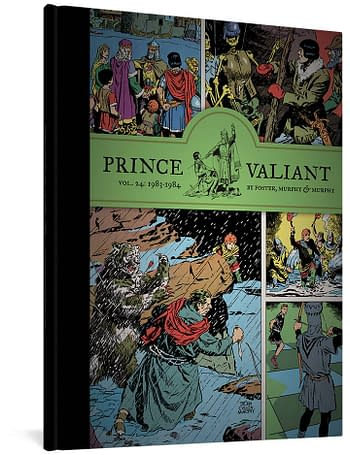 Cover image for PRINCE VALIANT HC VOL 24 1983-1984