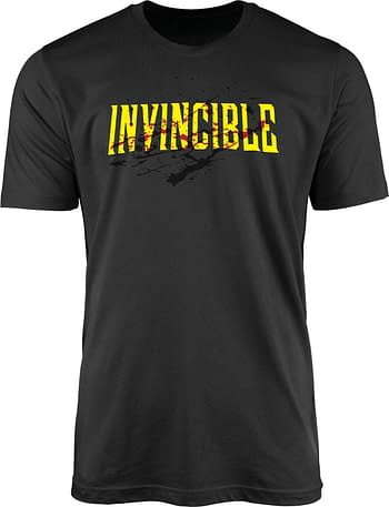 Cover image for INVINCIBLE BLOODY LOGO T/S SM