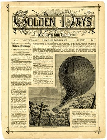 Golden Days Vol. III No. 6, Jauary 14, 1882, published by James Elverson.