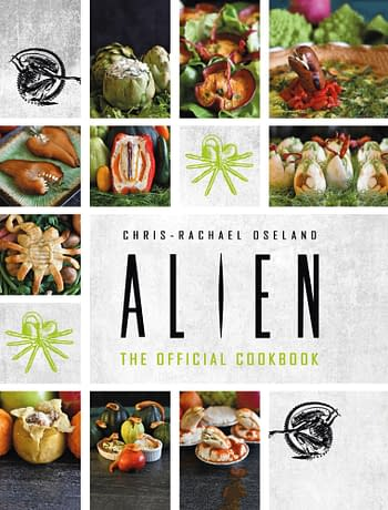 Cover image for ALIEN OFFICIAL COOKBOOK HC (RES)