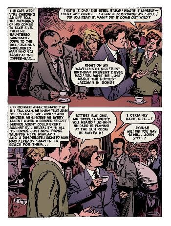 Rebellion Brings British 60s Secret Agent, John Steel, Back Into Print