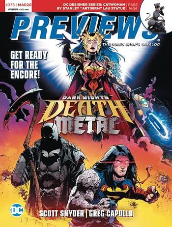 DC Comics To Discontinue Print Catalogue For Good