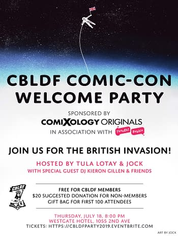 Bleeding Cool's Mammoth San Diego Comic-Con 2019 Party List