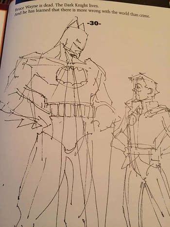 Frank Miller's Original Original Ending For Batman: The Dark Knight Returns