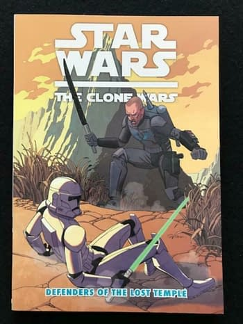 Star Wars Defenders Of The Lost Temple #1 Sells For Almost $1000