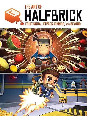 Cover image for ART OF HALFBRICK FRUIT NINJA JETPACK JOYRIDE & BEYOND HC (JU