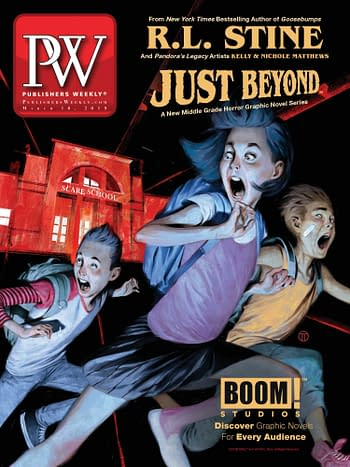 R.L. Stine's First Comic, Just Beyond: The Scare School, Has Advance Sales of 200,000