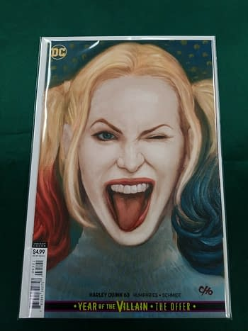 Whatve Happened to Frank Cho's Harley Quinn #63 Cover