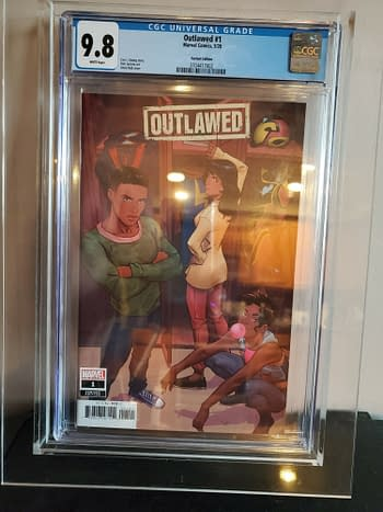 Outlawed #1 Gets For Almost $2500