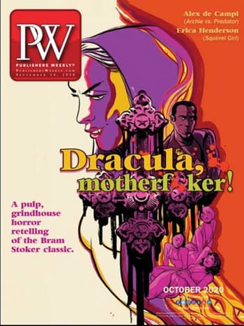 How Dracula Motherf**cker Image Comics Graphic Novel Topped The Chart
