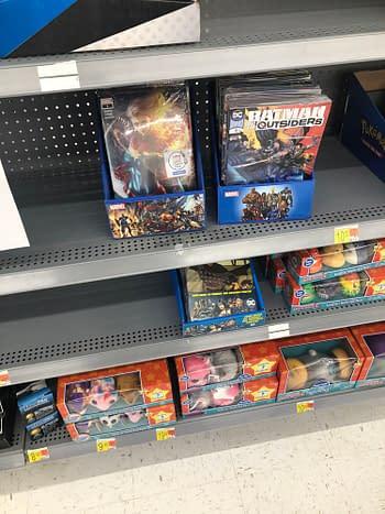 December Walmart Books Restocked