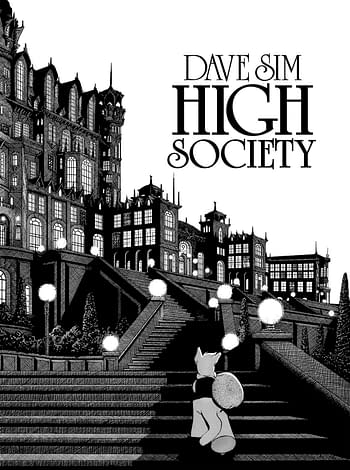 Cerebus Remasters High Society For Election Year.
