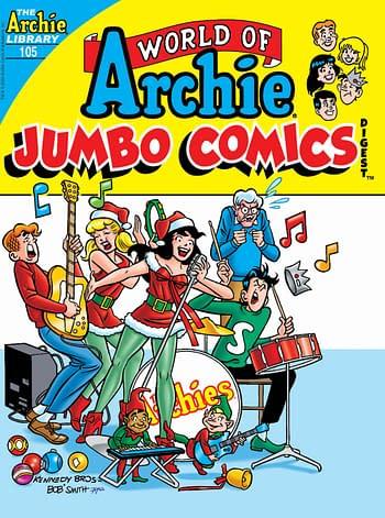 Archie Comics December 2020 Solicitations